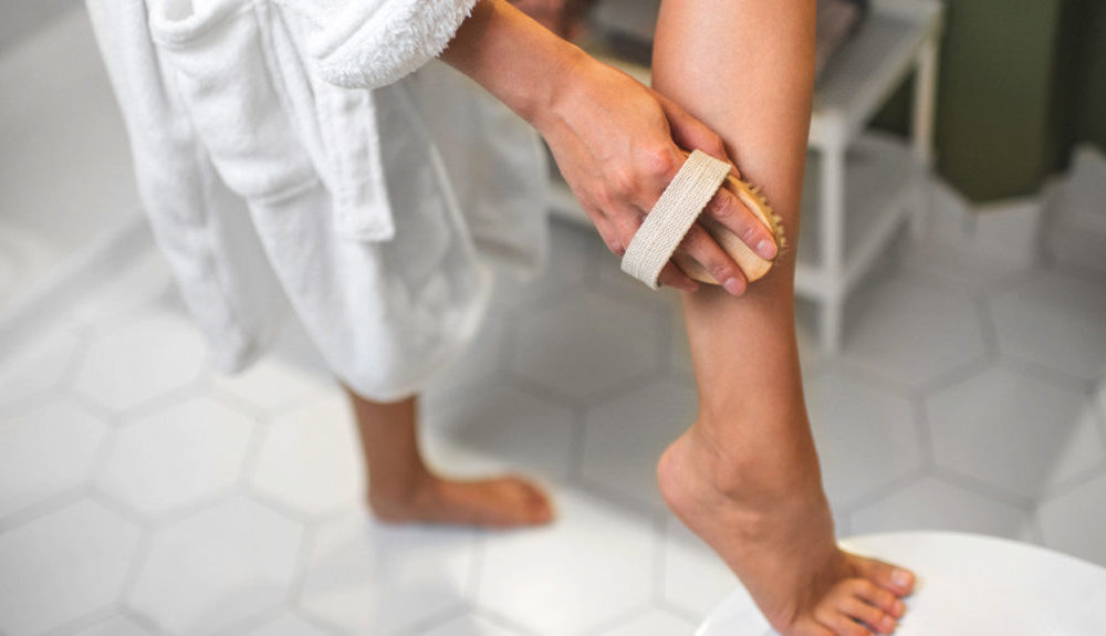 dry scaly skin on arms and legs